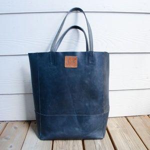 SSEKO DESIGNS ❤️ Black Oiled Bucket Bag